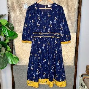 Orange Creek Floral Dress